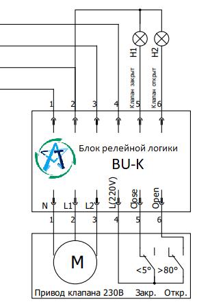 блок релейной логики ШУ-КП-НО