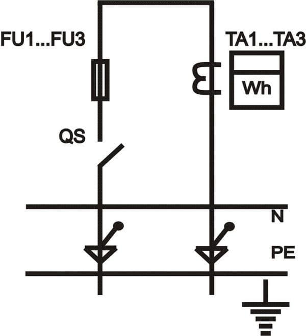 Однолинейная схема ИВРУ-1