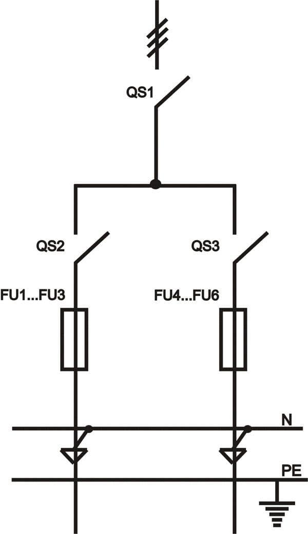 принципиальная однолинейная схема ИВРУ-2